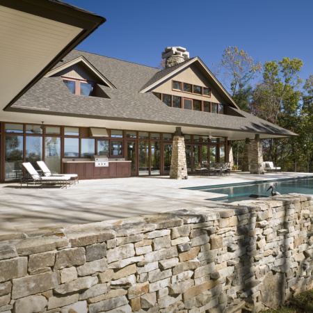 Custom home design by Eck MacNeely Architects
