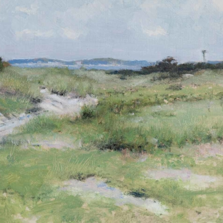 Back Beach Road, oil, 14x18, 2010