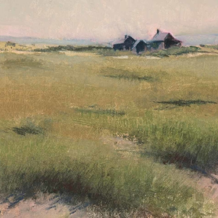 Beach Shacks, oil, 12x16, 2008