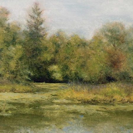 Charles River, oil, 16x20, 2007