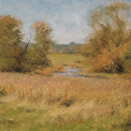 Fall Color, oil, 14x18, 2007