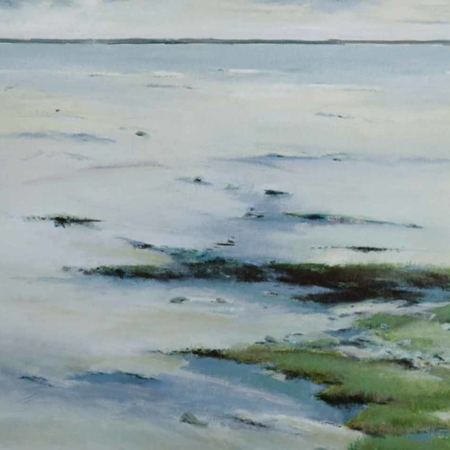 Low Tide, oil, 24x36, 2009