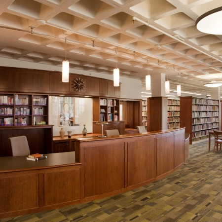Library Renovation | Thayer Academy