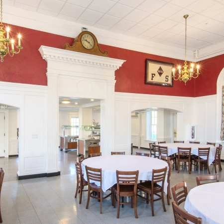 Dining Hall and Bathrooms | Fay School